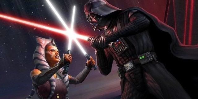 Star Wars Ahsoka vs Vader Fan Art