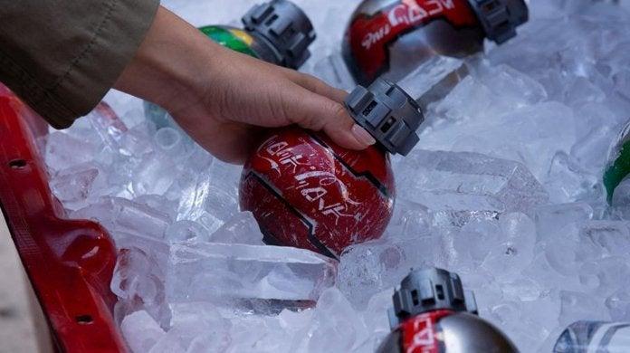 star wars galaxy's edge coke bottles