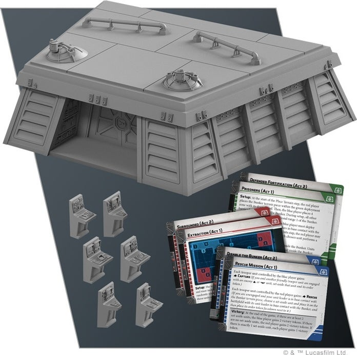 Image result for star wars legion bunker