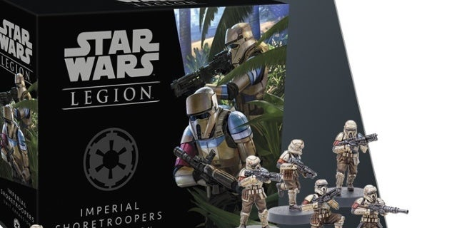 Star Wars: Legion Imperial Shoretroopers Expansion Brings Mortars To The Game