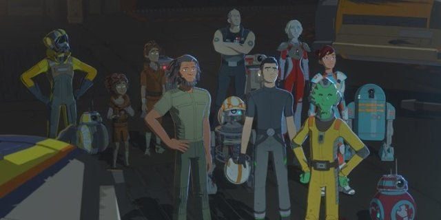 Star Wars Resistance to Conclude With Season 2