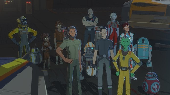 star wars resistance season two final group