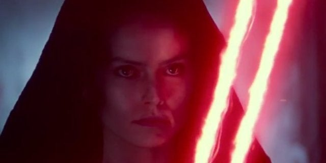 Star Wars: The Rise of Skywalker Footage Reveals First Look at Dark Rey