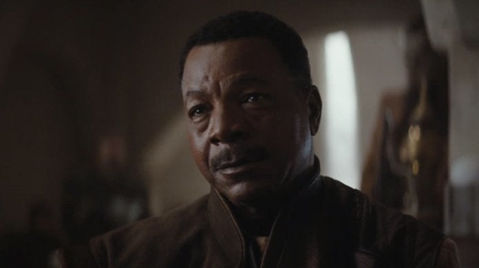 star wars the mandalorian carl weathers