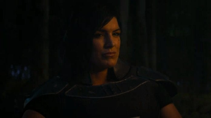 star wars the mandalorian gina carano