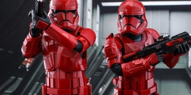 Star Wars: The Rise of Skywalker Merchandise Could Confirm Who the Sith Troopers Report to