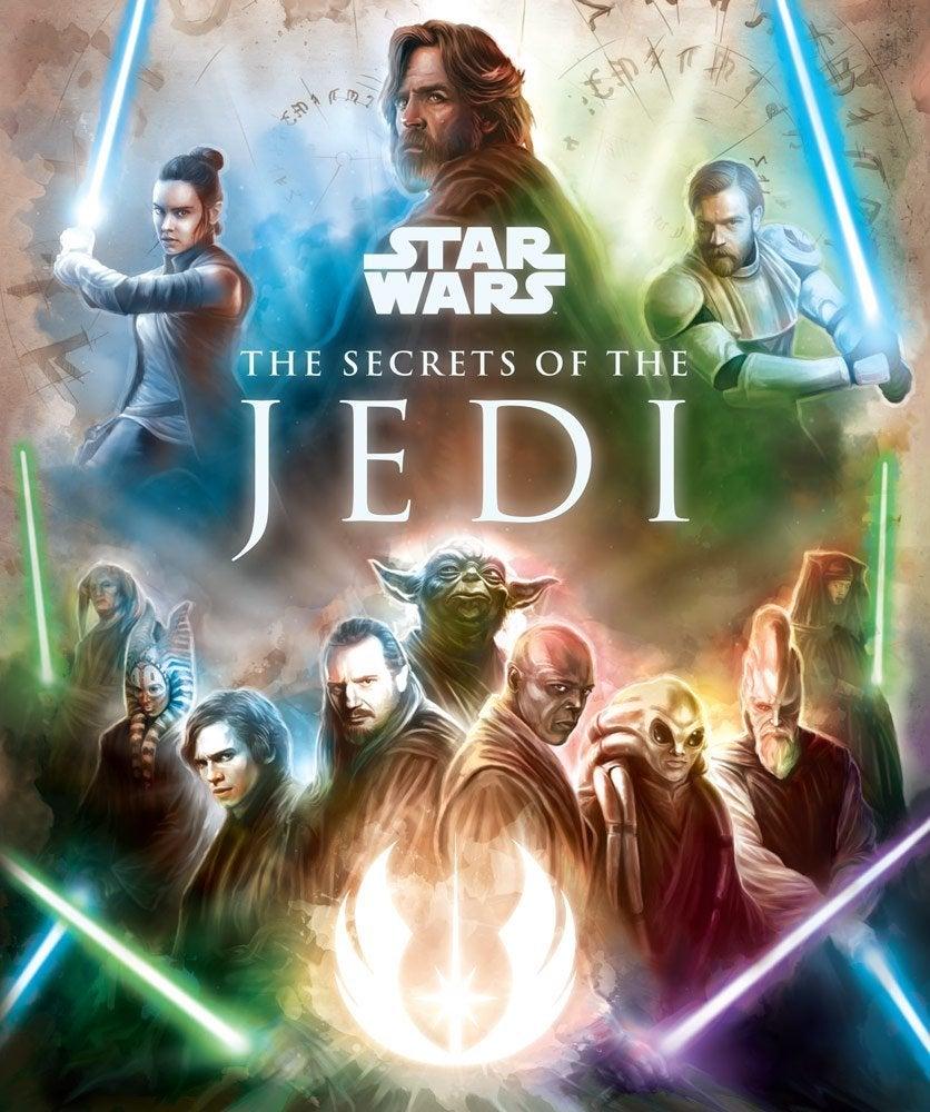 star wars the secrets of the jedi cover