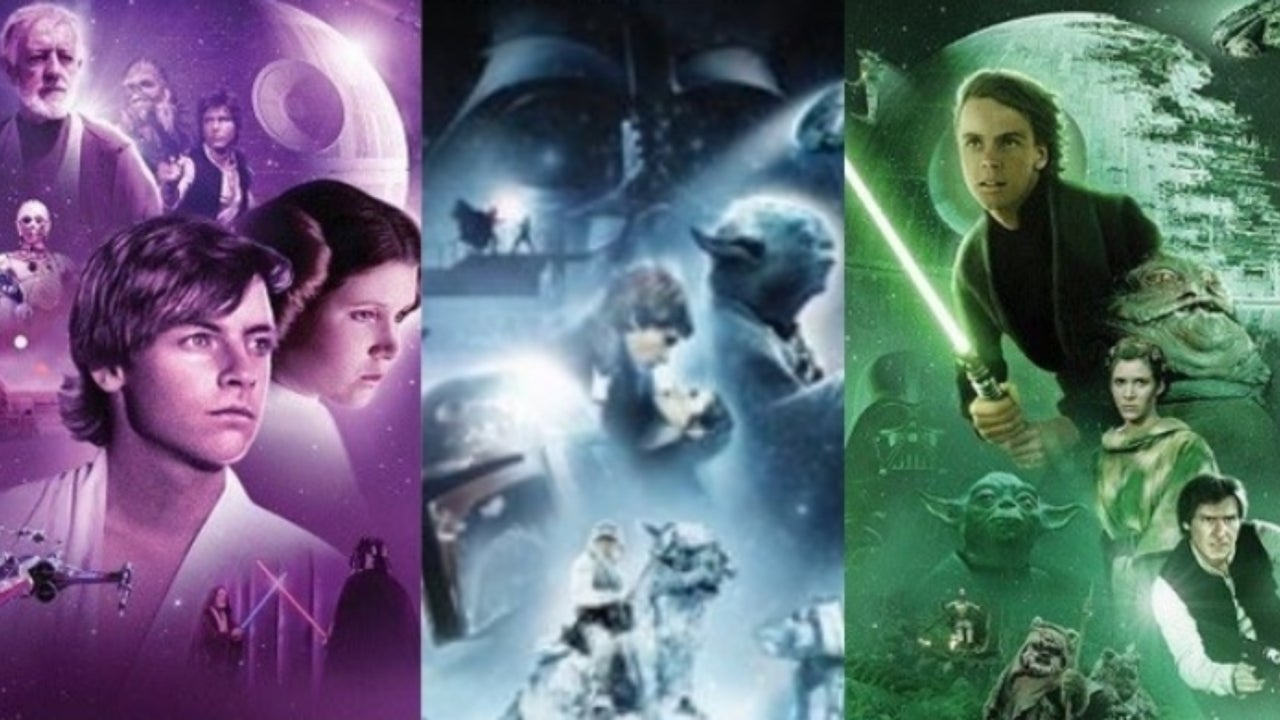 Newest Star Wars Saga Blu Rays Get Matching Artwork
