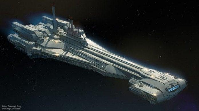 Star Wras Galactic Starcruiser Disney Resort