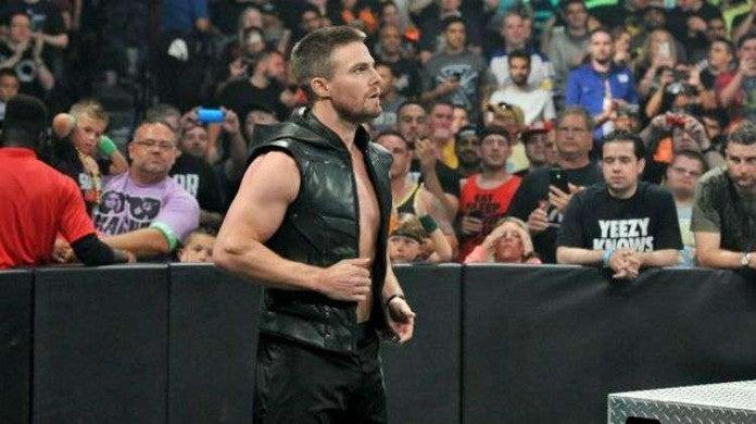 Stephen Amell Heels Starz TV Wrestling Drama