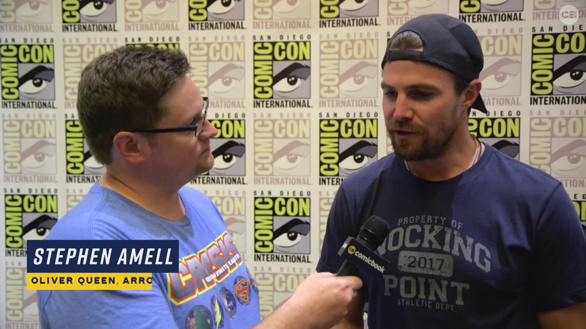 Stephen Amell Talks ARROW - San Diego Comic-Con 2019 Interview screen capture