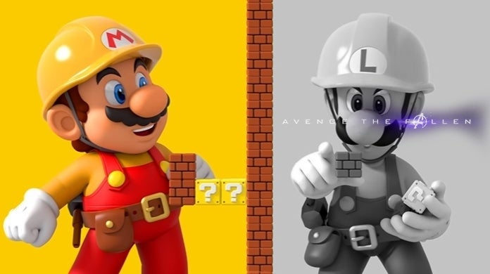 Super Mario Maker 2 Avengers Endgame Level
