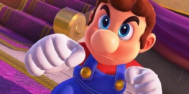 Super Mario Odyssey Mod Mustache