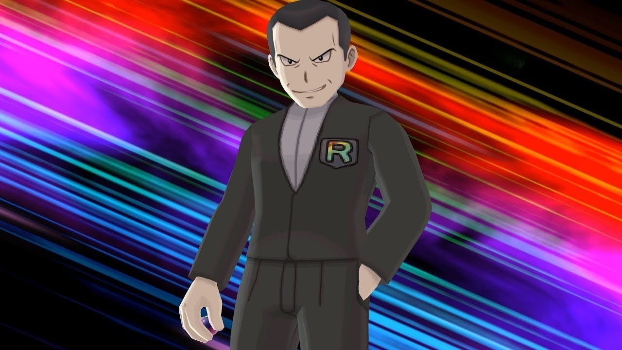 team rocket giovanni