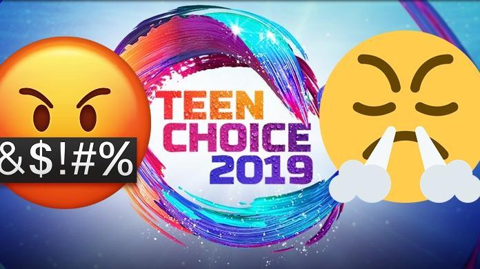 teen choice awards fans angry