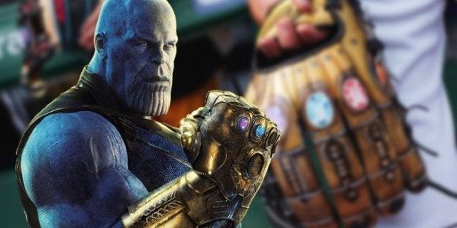 Major League Baseball Player Wears Avengers Infinity Gauntlet Glove