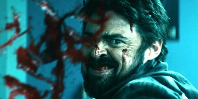 Karl Urban Doesn't Look Right in New The Boys Season 2 Photo