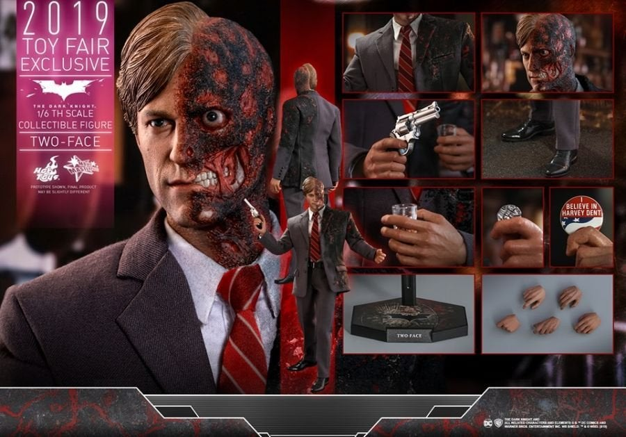 The Dark Knight Rises Two-Face Hot Toys 09