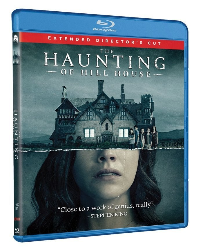 the haunting of hill house blu ray