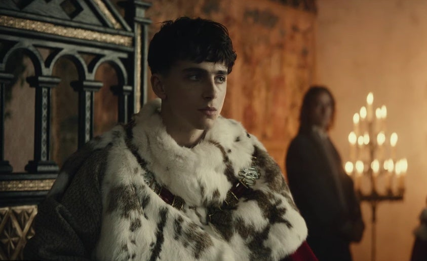 the king timothee chalamet