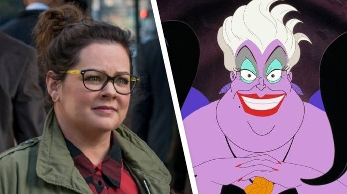 the little mermaid melissa mccarthy ursula