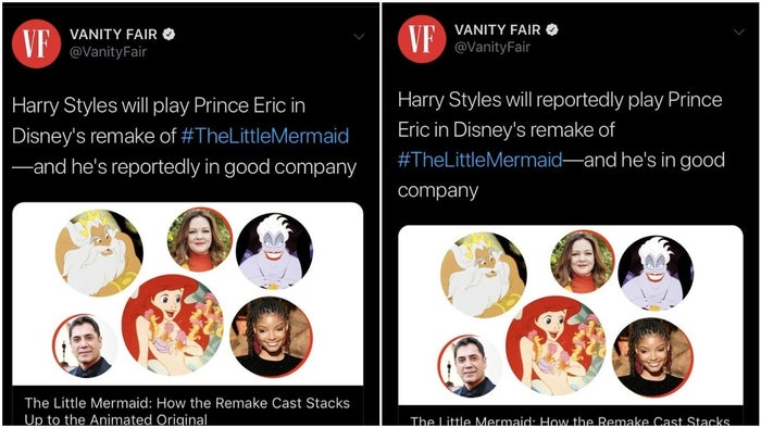the little mermaid vanity fair