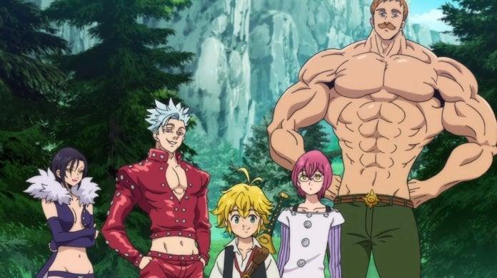 The Seven Deadly Sins Season 3 Wrath of the Gods