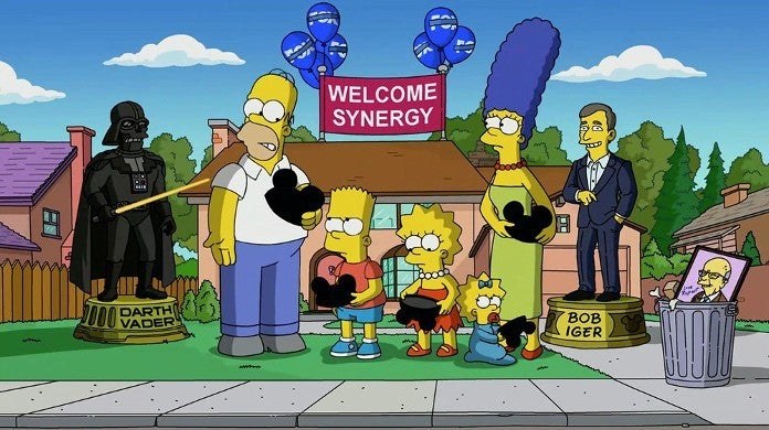The Simpsons Call Out Disney Wors Coporate Twitter Stunt