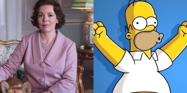 The Simpsons Olivia Colman