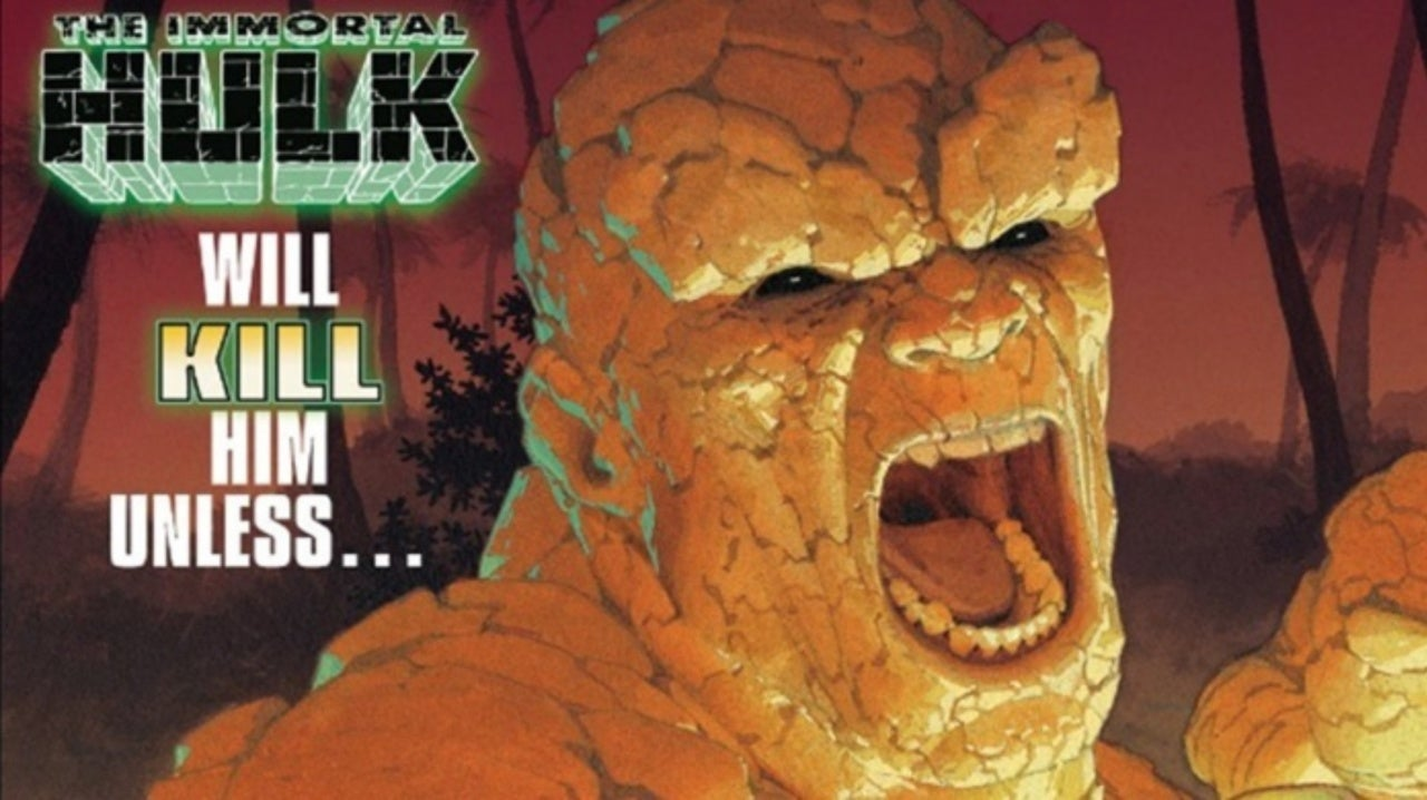 Marvel Reveals What's Under The Thing's Stone Skin And We're Horrified