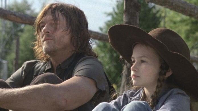 The Walking Dead Daryl Judith