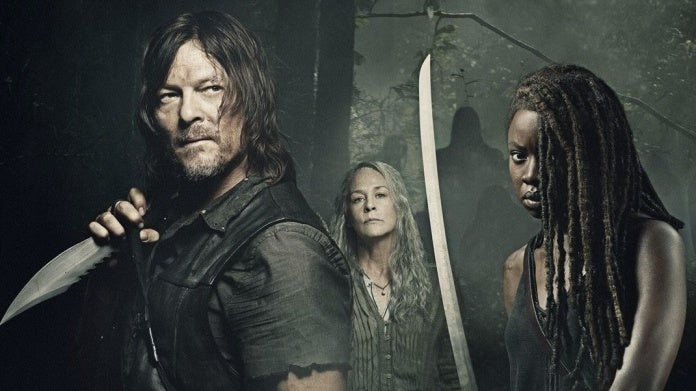 The Walking Dead Daryl Michonne Carol