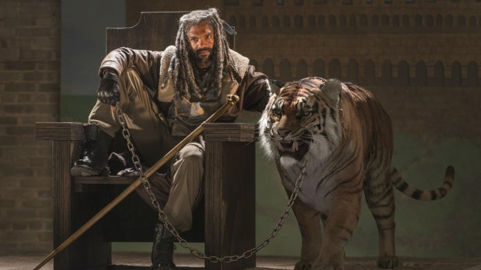 The Walking Dead Ezekiel Shiva