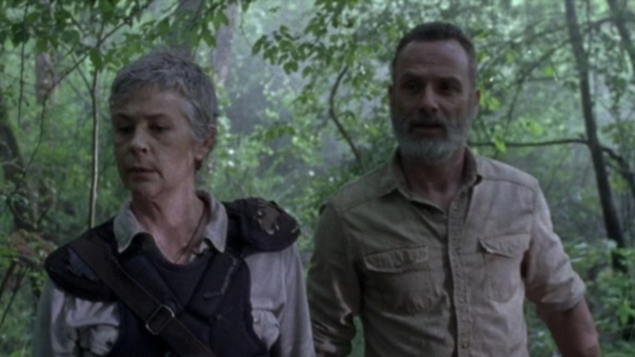 Rick and Carol Share a Happy Moment in The Walking Dead Season 9 Extended Scene