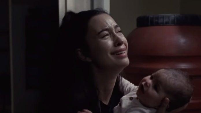 The Walking Dead Rosita baby Coco