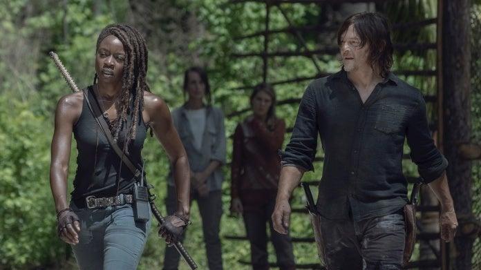 The Walking Dead season 10 Michonne Daryl