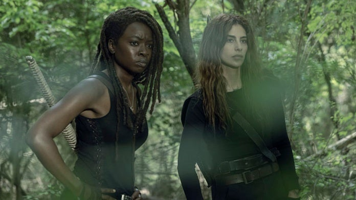 The Walking Dead Season 10 Michonne Magna Gurira Hilker