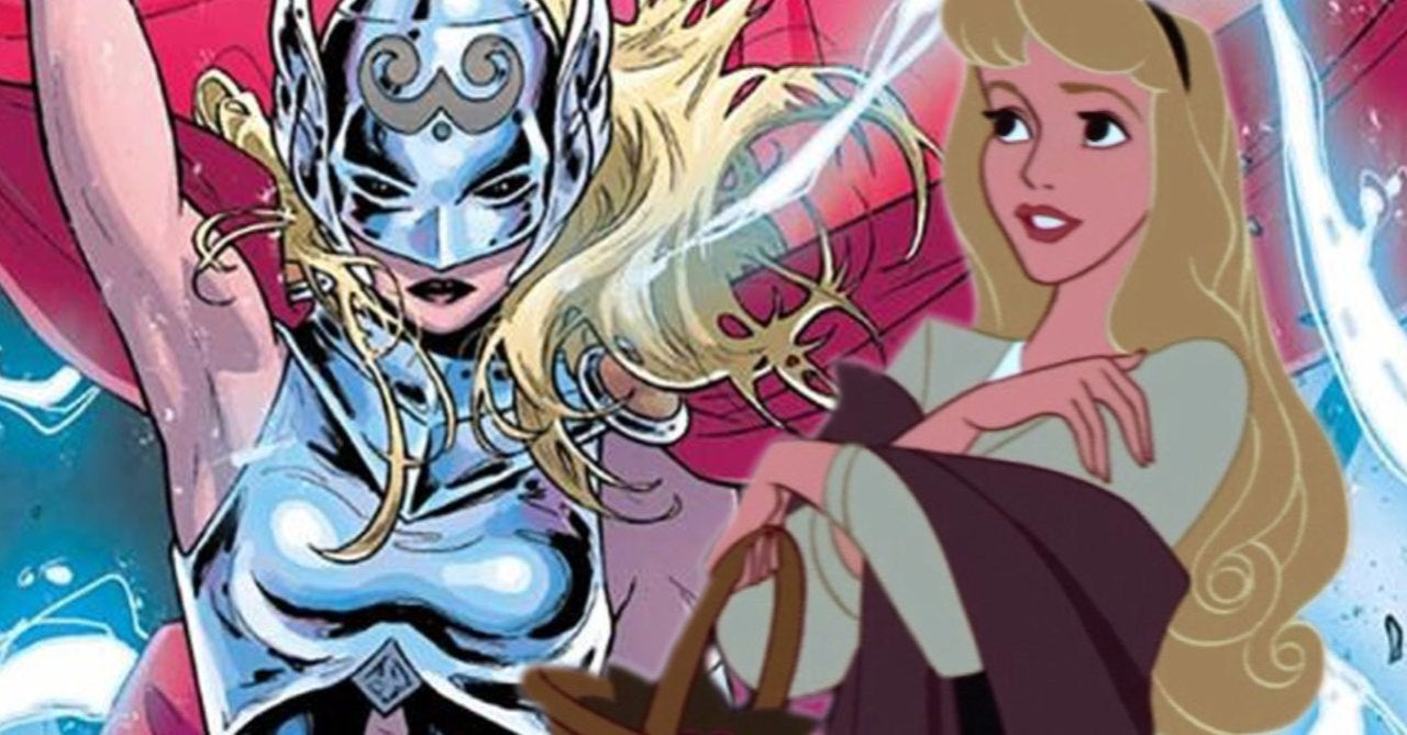 This Mighty Thor x Disney Princess Mashup Cosplay is Marvelous