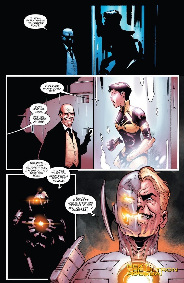 tony stark iron man 15 hank pym