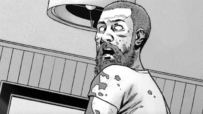 Walking Dead comics Rick Grimes death