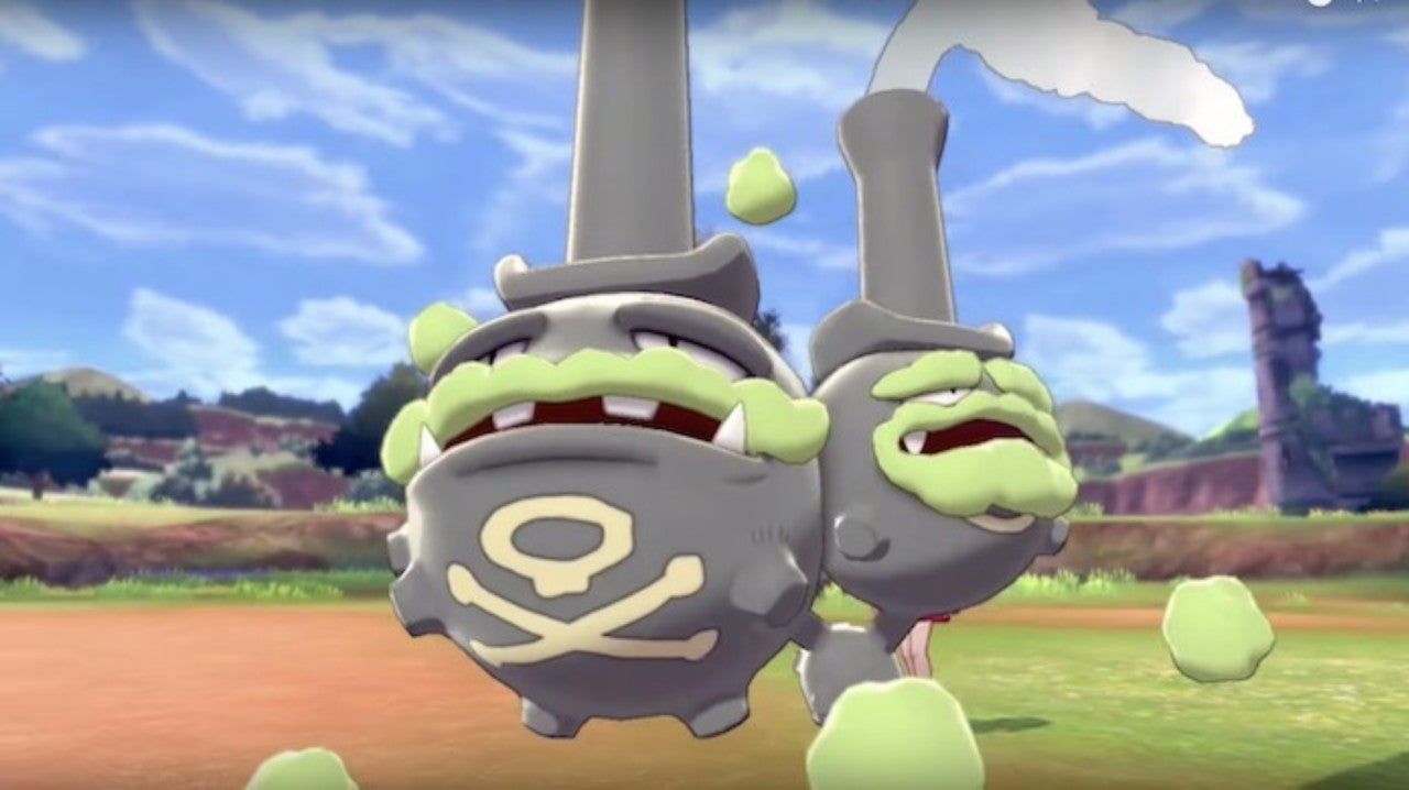 Galarian Weezing Could Be a Pokemon Game Changer