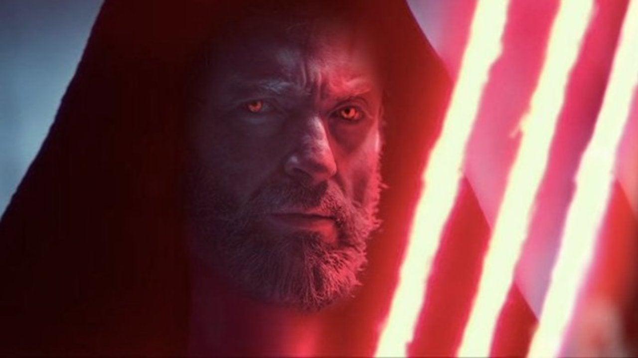 Star Wars Art Turns Dark Rey Into Hugh Jackman's Dark Wolverine