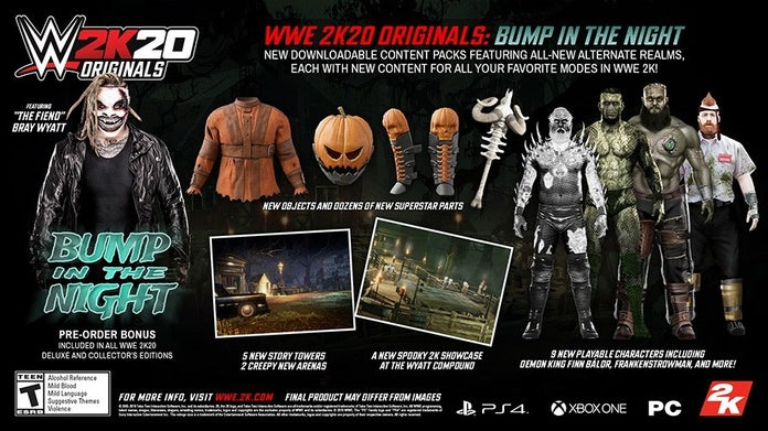 WWE-2K20-Originals-Bump-In-The-Night-DLC-Overview