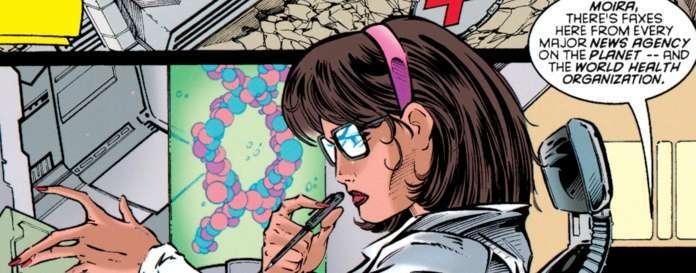X-Men Moira MacTaggert - Claremont