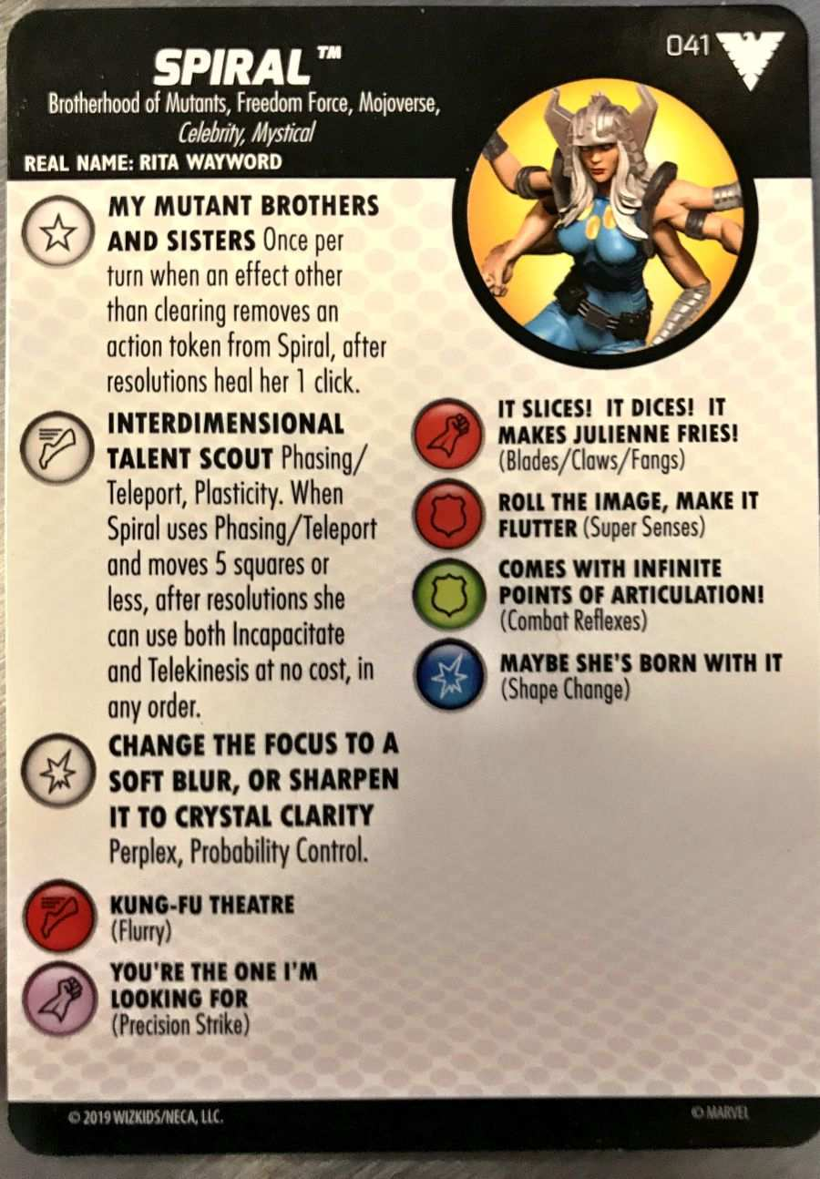 X-Men The Animated Series HeroClix 02