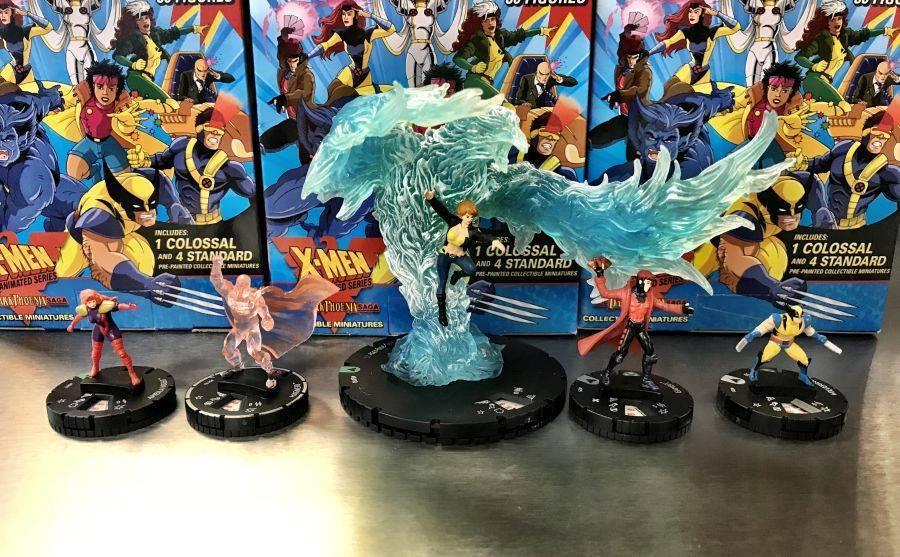 PROFESSOR X 035 X-Men Animated Dark Phoenix Saga Marvel Heroclix Rare