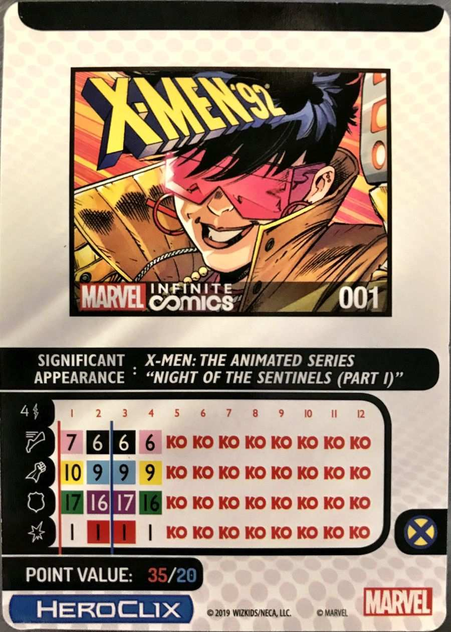 X-Men The Animated Series HeroClix 08