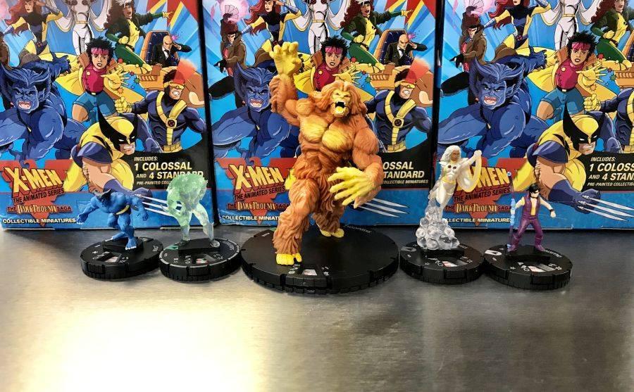 Heroclix X-Men the Animated Series The Dark Pheonix Saga