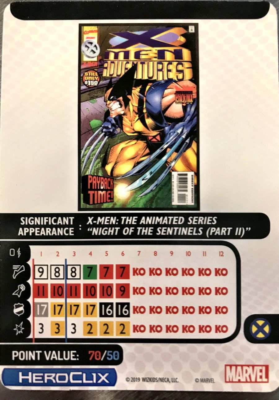 X-Men The Animated Series HeroClix 11