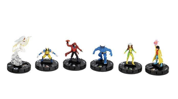 X-Men The Animated Series HeroClix Fast Forces